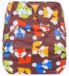 """AnAnBaby Pocket """"Rainbow Foxes"""""""