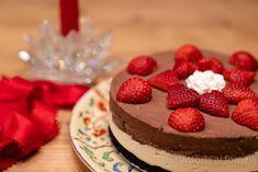 Cheesecake al doppio cioccolato senza cottura, dolce goloso Strato, Desserts, Food, Tailgate Desserts, Deserts, Essen, Postres, Meals, Dessert
