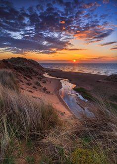 Balmedie Beach Sunrise (May 5th, 2018) Aberdeenshire, Scotland