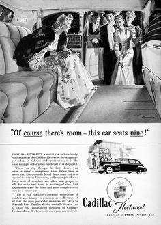 1941 Cadillac-Fleetwood Series Seventy-Five Seven-Passenger Sedan Interior | Flickr - Photo Sharing!