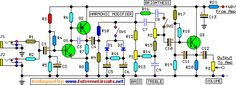 guitar preamplifier circuit project