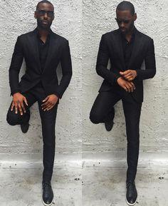 Davidson Frere black suit