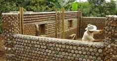 How to Construct Houses with Plastic Bottles  See more here -> http://www.goodshomedesign.com/how-to-construct-houses-with-plastic-bottles/ - Home Design - Google+
