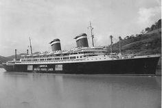 United States Lines AMERICA on a cruise, 1940 via Todd Neitring