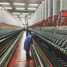 Turkish yarn production
