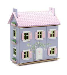 maison de poupée sur le blog Les Pascalettes marque de Bavoir chic blog.lespascalettes.com