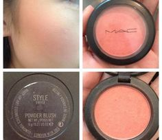Mac style blush Jaclyn hills top fav looks crazy, but it's yellow gold with orange undertone