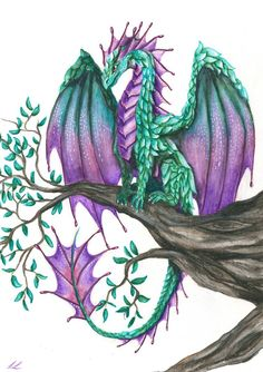 ~The Dragon Of Calm + detailed Video by UnicornCat on DeviantArt Cute Dragon Drawing, Art Drawings, Drawings, Creature Art, Art, Dragon Pictures, Color Pencil Art, Mythical Creatures Art, Dragon Drawing