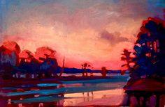 Evening Reflections Reflection, Landscape, Painting, Inspiration, Art, Kunst, Biblical Inspiration, Art Background, Scenery