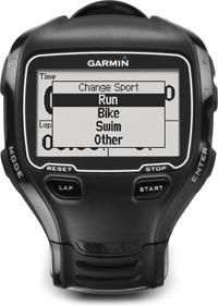 GPS multisport watch. If you're living the multisport lifestyle, you know how important it is to get the most out of your time and your workouts. With customizable fields and modes designed specifically to maximize the available data for immediate feedback or later analysis. And Garmin includes their Premium Heart Rate Monitor with this package, which transmits your heart rate wirelessly to your watch.