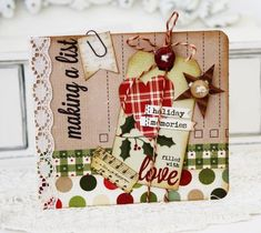 Another pretty Christmas card from Lilybeanpaperie. Merrychristmas_meliphillips1  Simple Stories is introducing the cutest, coziest, most homespun collection called Handmade HolidayHolidaymemories_meliphillips2
