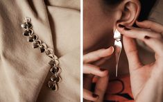Georg Jensen is re-releasing a collection of Danish designer Nanna Ditzel's classic jewelry. She was their first female designer.