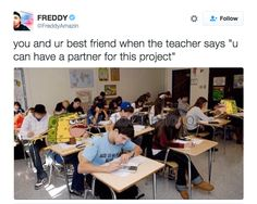 On group projects: | 23 Times Caveman SpongeBob Was The Most Relatable SpongeBob