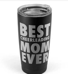 $35 Best Cheerleading Mom Ever 20oz. Tumbler. Cheer cup. Cheer water bottle. mom gift. #cheerleading #ad