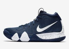 The Nike Kyrie 4 Is Releasing In Navy And White a88c3b532