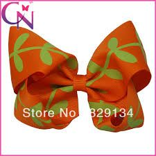 full leaves hair bow - Google Search