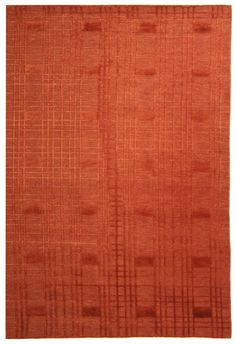 RugStudio presents Safavieh Tibetan TB120C Rust Hand-Knotted, Better Quality Area Rug 8x10 = 2300