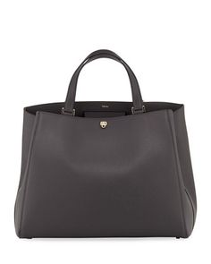 Brera+Large+Leather+Top-Handle+Tote+Bag+by+Valextra+at+Bergdorf+Goodman.
