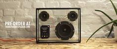Transparent speaker from PEOPLE PEOPLE.