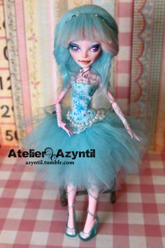 OOAK Custom Monster High Repaint Shining Star by by Azyntil