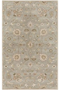 Ada Area Rug - Traditional Rugs - Wool Rugs - Hand-tufted Rugs - Patterned Rugs | HomeDecorators.com