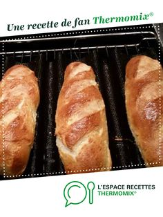 Baguette, Thermomix Desserts, Tupperware, Hot Dog Buns, Baked Potato, Rolls, Baking, Ethnic Recipes, Followers