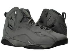 34e877f00af7b1 Nike Jordan Men s Jordan True Flight Cool Grey Black Basketball Shoe 9.5  Men US