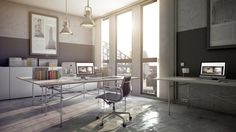 How to shoot 3d interior photography - Beginner,  Artwork by Jan Kristian Volmer.