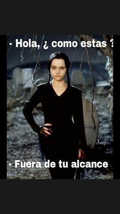 Wednesday Addams (Christina Ricci) - The Addams Family She was prefect. The Addams Family, Addams Family Quotes, Addams Family Wednesday, Amphi Festival, Erich Von Stroheim, Funny Quotes, Funny Memes, Hilarious, Funny Gifs