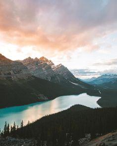 Moraine Lake <3 Marvelous Nature Landscapes by Zachary Edward Martgan