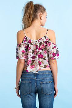 Топ Размеры: L Цвет: белый с принтом Цена: 203 руб.     #одежда #женщинам #топы #коопт