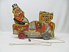 Online Antique and Collectibles Mall - over a half-million vintage antiques and collectible items for sale on-line. Antique Toys, Vintage Toys, Vintage Antiques, Fisher Price Toys, Vintage Fisher Price, Pull Toy, Made Of Wood, The Past, Dolls