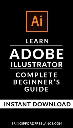 37 Page eBook designed as a beginner's reference point for anyone beginning to learn Adobe Illustrator.