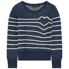 Ikks - Striped sweater with lurex - 204839