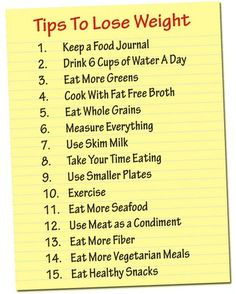 Weight Watchers Tips to Lose Weight