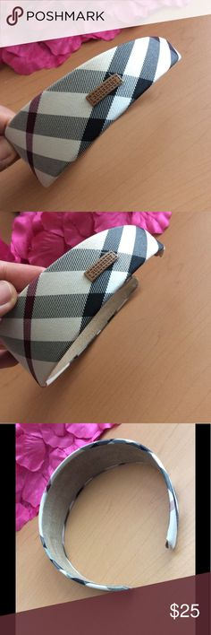 Burberry Plaid Headband Brand new. Good quality. ****Inspired.*** Reasonable offer will be accepted. Burberry Accessories Hair Accessories