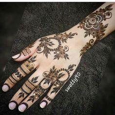 Tribal Henna Designs, Latest Arabic Mehndi Designs, Floral Henna Designs, Unique Mehndi Designs, Wedding Mehndi Designs, Henna Designs Easy, Beautiful Henna Designs, Henna Tattoo Designs, Mehndi Designs For Hands