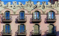 Barcelona Modernisme, 1910 -  Architect: Antoni Millàs i Figuerola