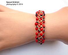 Huayruro bracelet Ecofriendly bracelet by MiraquelAccessories