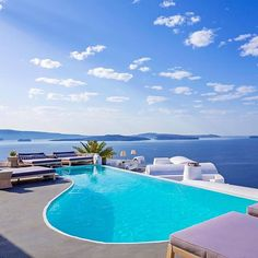 Katikies Hotel Santorini Greece #hotelsandresorts  @MyVillas  Inspiring deep emotions of enchantment and fascination #KatikiesHotel in #Oia Santorini is renowned for its leading luxury unparallel services warm atmosphere and sense of romance uniquely combined in an exceptional setting and natural environment in Oia #Santorini inviting its guests to experience moments of pure luxury.  by hotelsandresorts