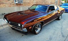 1970 Ford Torino GT Fastback.