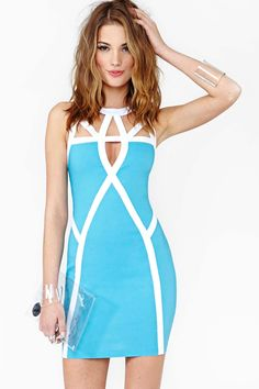Bright Lines Dress in Clothes Dresses at Nasty Gal
