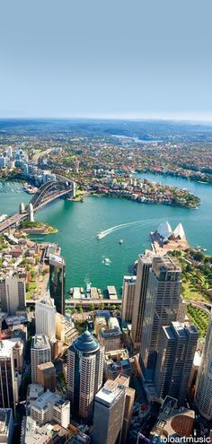 Part of Sydney Harbour, Australia