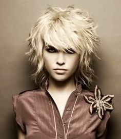 I'm going to do my hair like this! The Color and Cut!