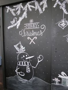 Christmas Chalkboard Art: A New Tradition   A Goode House