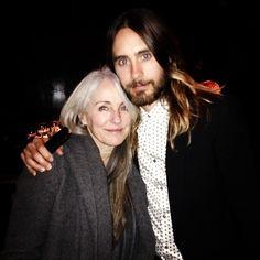 jaredleto Me + my mom at NY Film Critics Circle Awards
