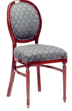 310 Side Chair: Oval Shape Back with Upholstered Back & Web Seat - Grade 1, 310-grade1 | RestaurantFurniture4Less.com
