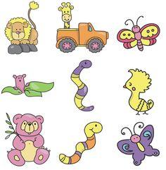 9jungle Embroidery Designs
