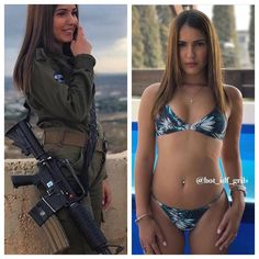 69 Stunning Army Women With & Without Uniform Looking Hot Idf Women, Military Women, Bikini Babes, Sexy Bikini, Female Army Soldier, Military Girl, Mädchen In Bikinis, Girls Uniforms, Hot Girls
