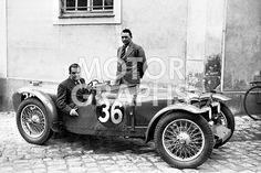 24H LE MANS 1934 - RILEY NINE BROOKLANDS #36 - Alex van der Becke Kenneth Peacock